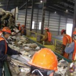 Garbage being sorted for RDF